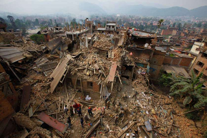 Yuri Vanetik Nepal Earthquake